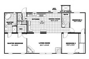 Clayton Manufactured Homes Floor Plans Manufactured Home Floor Plan 2009 Clayton Freedom 2