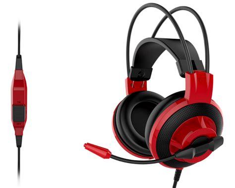 Headset Msi msi ds501 gaming headset s蛯uchawki gaming strefa gracza