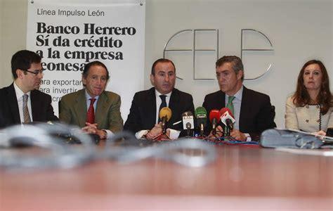 banco herrero en leon banco herrero ofrece a las empresas de fele hasta 100