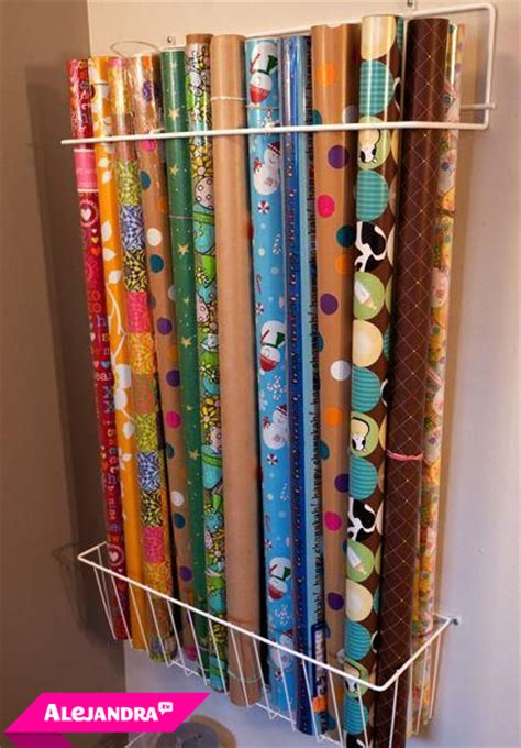 How To Store Craft Paper - best way to store wrapping paper rolls