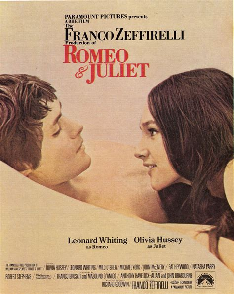 theme song from romeo and juliet movie franco zeffirelli s production of romeo and juliet 1968