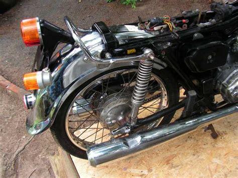 Polieren Crom by Honda Cb 125 K B6 Disc Helixaners Motorradseiten