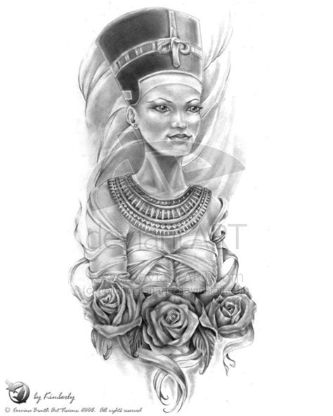 black queen tattoos nefertiti sleeve nefertiti and tats