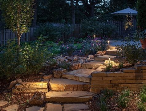 landscape lighting layout design outdoor lighting ideas