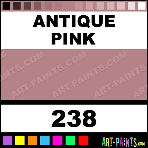 antique pink basicacryl acrylic paints 238 antique pink paint antique pink color marabu