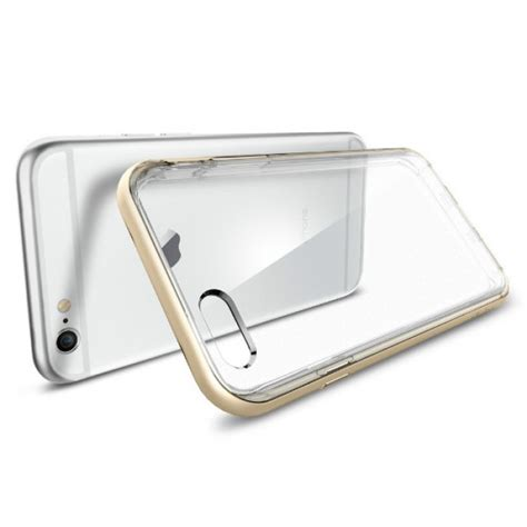 Iphone 6 Iphone 6s Bumper Bening Iphone6 T3010 7 jual spigen iphone 6 6s neo hybrid ex with back chagne gold indonesia original