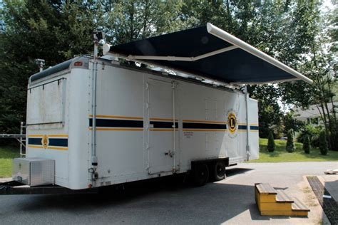 rv trailer awnings image gallery trailer awnings