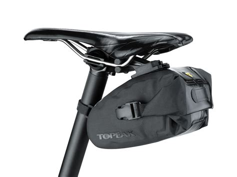 Saddle Bag 0 5l Ics System Black wedge drybag topeak