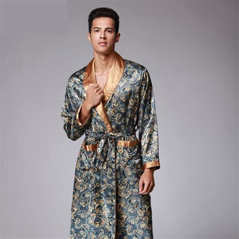 popular mens silk dressing gown buy cheap mens silk popular bathrobe for buy cheap bathrobe for lots