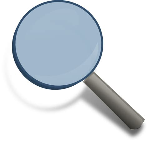 magnifying glass icon clip at clker vector