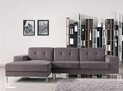 L Shaped Grey Sofa by Forli L Shape Gray Fabric Sectional Sofa