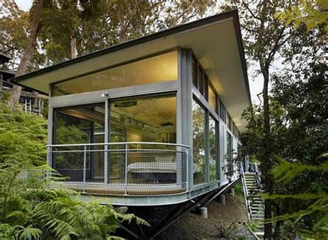Modern Glass Houses by Contemporary Glass House In Sydney Australia Freshome Com