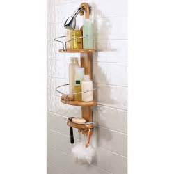 Bath Shower Caddy Eco Friendly Bamboo Shower Caddy