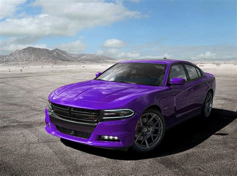 purple charger car the dodge charger every inch slick in purple 51st