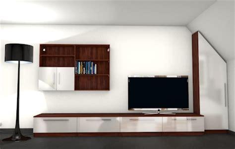 moderne wohnzimmerwand moderne wohnwand mit materialmix meine m 246 belmanufaktur