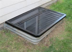 accent window well covers hinged egress window cover for the home