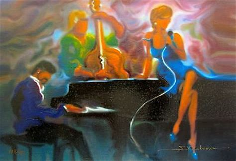 Home Decor Stores New Orleans by Steve Bloom Cool Jazz Hand Paints On Canvas Piano Bar Oil