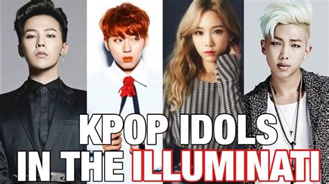 kpop illuminati kpop idols in the illuminati sundayswithdanielle