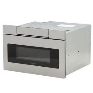 sharp 1 2 cu ft 24 in microwave drawer with concealed