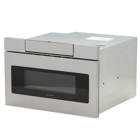 Sharp 24 Microwave Drawer by Sharp 1 2 Cu Ft 24 In Microwave Drawer With Concealed
