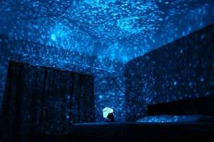 Projector Onto Ceiling by Starfield Simulation Light