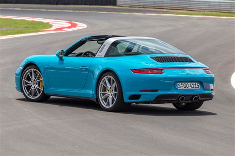 miami blue porsche targa porsche 911 targa 4 2016 review by car magazine