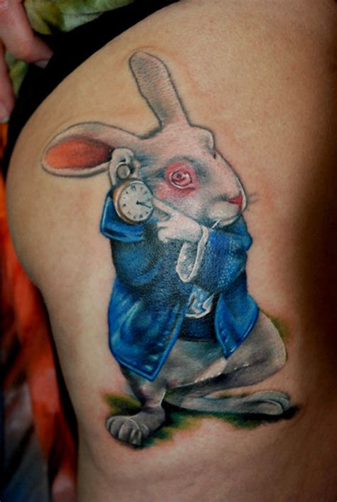 red rabbit tattoo 30 most cutest rabbit designs for sheplanet