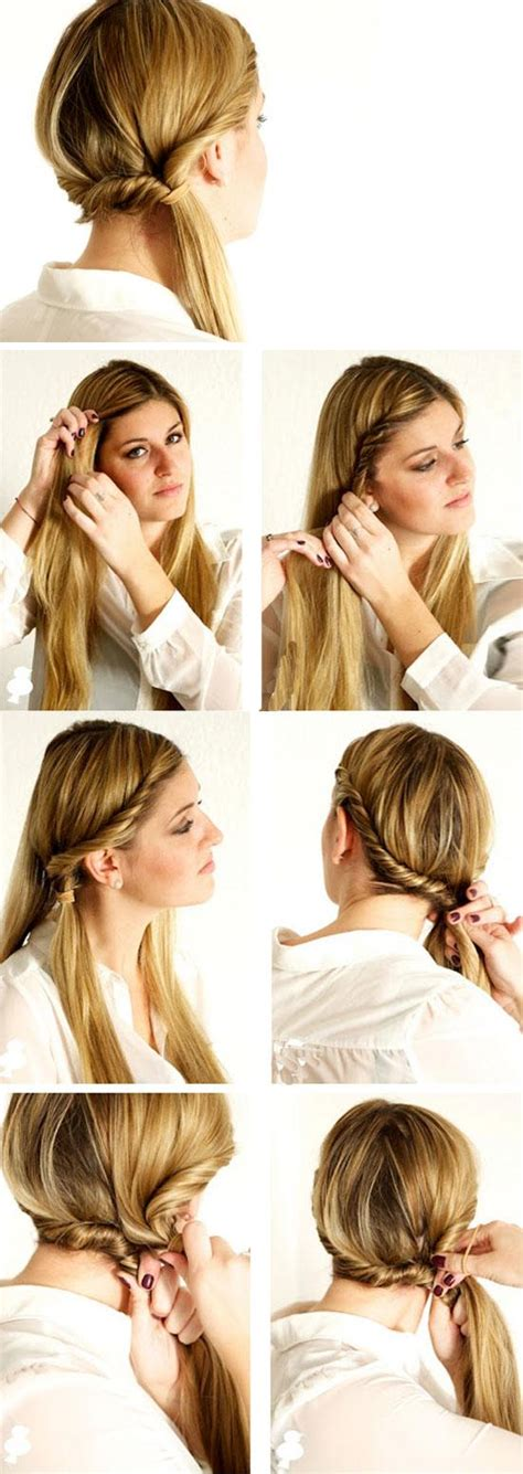 Diy Hairstyles For College | 24 quick and easy back to school hairstyles for teens