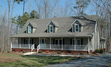 front house plans with porches or by ranch country style