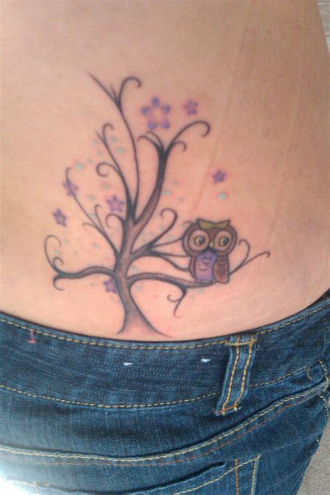 tattoo owl tree my owl tree tattoo ink pinterest