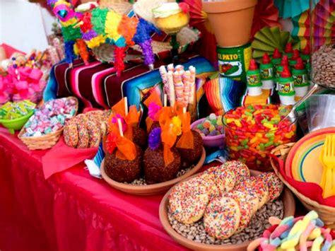 decoracion de mesa de dulces mexicanos cocinadelirante - Decorar Mesa Mexicana