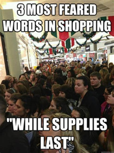 Christmas Shopping Meme - memes quickmeme