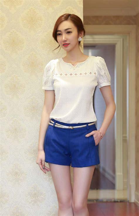 Celana Korea celana pendek wanita korea cantik terbaru model terbaru jual murah import kerja