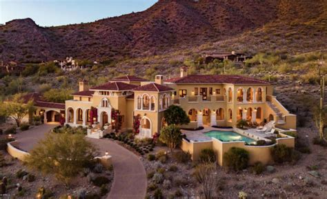 mediterranean style mansions mediterranean style mansion in scottsdale arizona homes