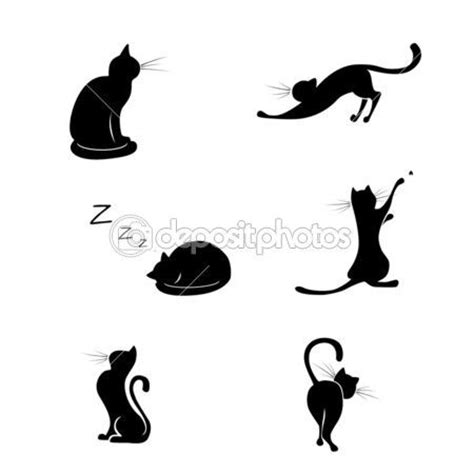 tattoo black cat silhouette 17 best ideas about cat silhouette tattoos on pinterest