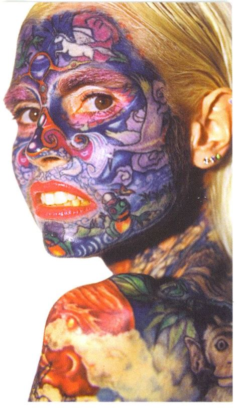 full body and face tattoo julia gnuse commonly known by the nickname the