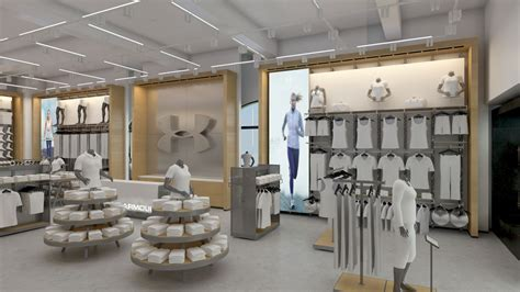 home design stores baltimore under armour stores architectural 3d rendering