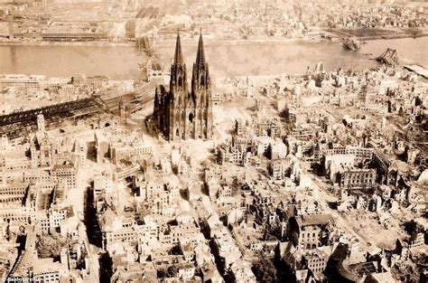 the destruction of european the world after war aerial photos reveal the apocalyptic devastation of europe in weeks after