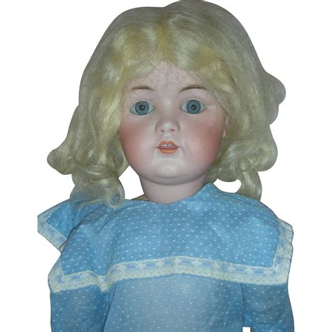 how to restring a bisque doll 24 inch unmarked bisque doll with jointed composition