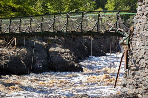 the swinging bridge story jay cooke s swinging bridge due back by fall minnesota
