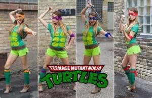 teenage mutant ninja turtle diy halloween costume youtube