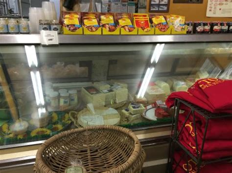 Otto S Sausage Kitchen by Display Of Cheese Picture Of Otto S Sausage Kitchen And