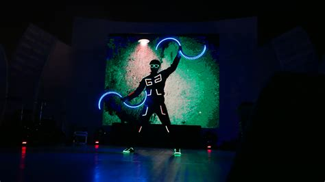 Light Dancers by Offer Led Performance With Laser Show