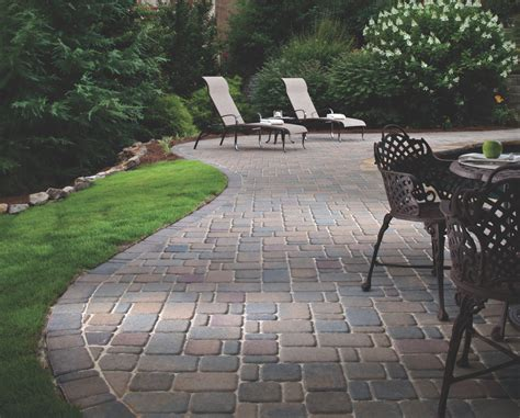 belgard patio pavers cambridge cobble pavers 4 less