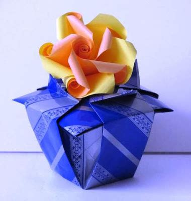 3d Origami Beginners - make easy paper crafts arts and crafts picture