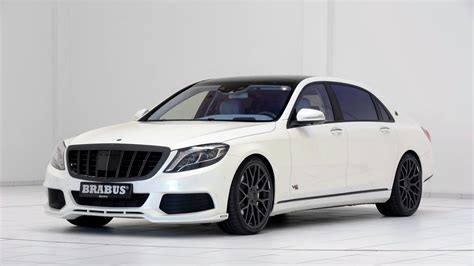 maybach mercedes white 900 hp brabus maybach s600 shown in white with blue