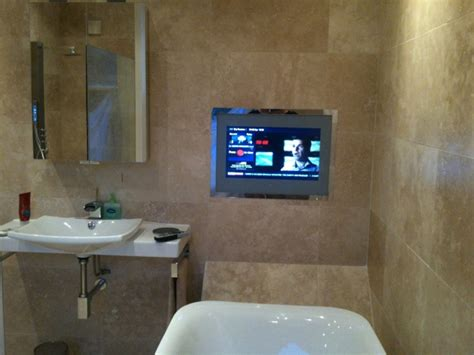 Bathroom Tv Ideas by Practical Bathroom Tv Placement Ideas Images And Photos