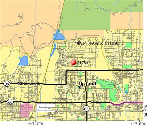 Zip Code Map Upland Ca   91784 zip code upland california profile homes