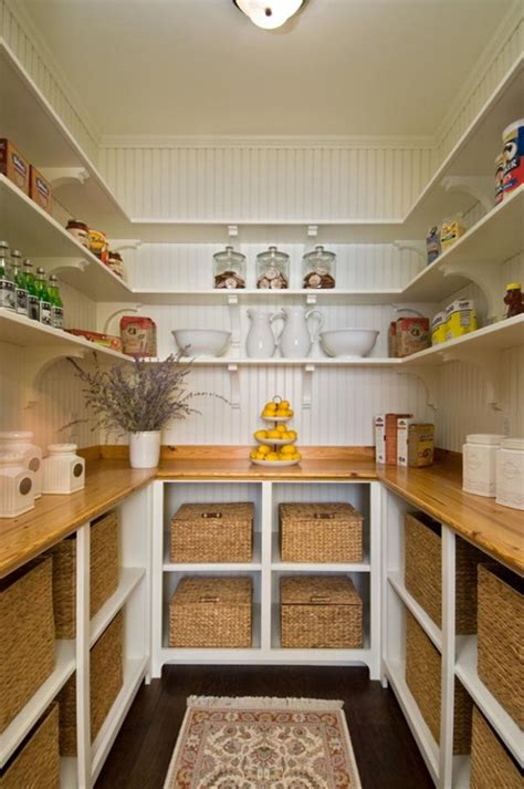 Open Pantry Ideas by An Organized Kitchen Pantry Home Decorating