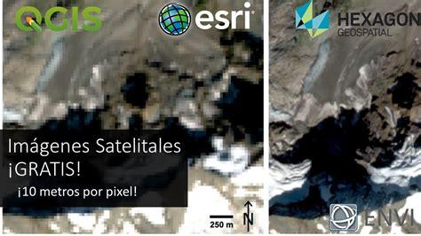 imágenes satelitales obtenidos de goes 13 im 225 genes satelitales gratis 10 metros por pixel sentinel